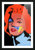 Marilyn in full color Picture Frame print