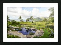 Welcome to Paradise   Kauai Hawaii Picture Frame print