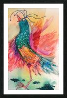 Chicken Dance Picture Frame print