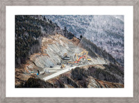 Mountain Moving Picture Frame print