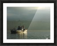 Basking Picture Frame print