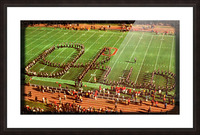 1978 Ohio State Marching Band Art Picture Frame print