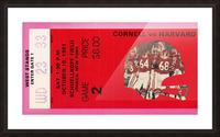 1981 Cornell Big Red vs. Harvard Crimson Picture Frame print