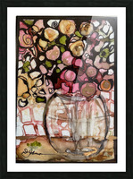 Floral Fun Picture Frame print