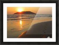 Footprints in the Sand 2 Picture Frame print