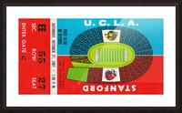 1967 UCLA Bruins vs. Stanford Indians Picture Frame print