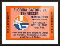1985 Florida Gators vs. Tennessee Vols Picture Frame print