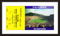 1974 California Bears vs. Stanford Cardinal Picture Frame print