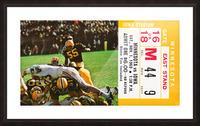 1969 Iowa Hawkeyes vs. Minnesota Golden Gophers Picture Frame print