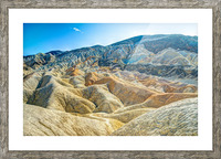 Death Valley Waves Picture Frame print