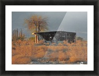 Abandoned in the Desert Picture Frame print