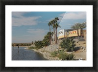 North Shore Beach & Yacht Club Picture Frame print