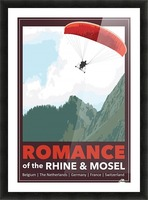 Lydon, Romance of the Rhine and Mosel poster Picture Frame print