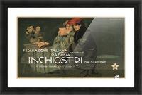 Federazione Italiana Chimico Industriale Padova Inchiostri Da Scrivere Poster Picture Frame print