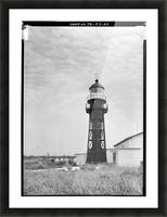 Isla-de-Mona-Light-Puerto-Rico Picture Frame print