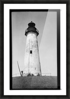 Point-Isabel-Light-Station-Texas Picture Frame print