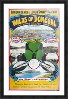 Irish Travel Art Poster, Wilds of Donegal, Ireland Picture Frame print