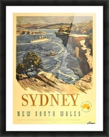 Sydney New South Wales Picture Frame print