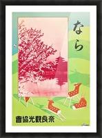 1930 Japan Vintage Travel Poster Picture Frame print