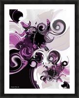 Vision of Emotional Information Picture Frame print