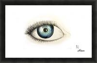 Eye Picture Frame print