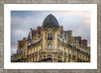 Paris Style Picture Frame print