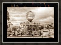Paris Caroussel Picture Frame print