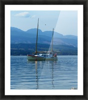 A Perfect Summer Day Picture Frame print