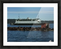 Baynes Sound Picture Frame print