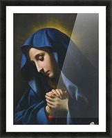The Madonna at Prayer Picture Frame print