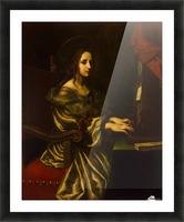 St Cecilia Picture Frame print