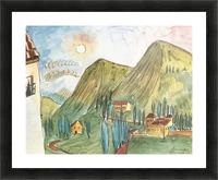Granada by Walter Gramatte Picture Frame print