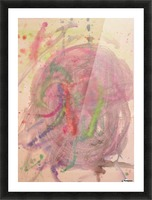 Untitled 1 (Joan Miro tribute) Picture Frame print