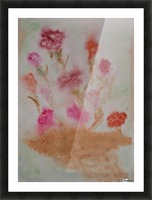 Carnations Picture Frame print