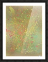 Cosmic explosion Picture Frame print