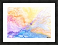 Storm Picture Frame print