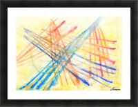 Scratches 2 (Joan Miro tribute) Picture Frame print