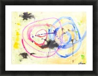 Relationship 1 (Joan Miro tribute) Picture Frame print