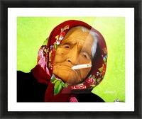 Native Survivor Picture Frame print