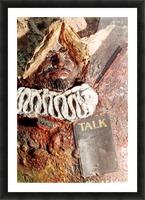 Talk Picture Frame print
