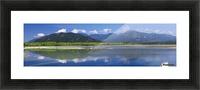 Peg Leg Bar in the morning; Chilliwack, British Columbia, Canada Picture Frame print