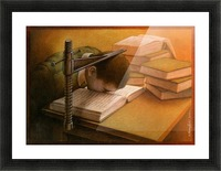 Book Picture Frame print