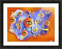 Fioloniceto V2 - digital surrealism Picture Frame print