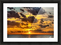 Fire in the Sky Picture Frame print