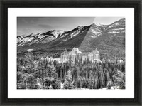 Banff_Hotel Picture Frame print