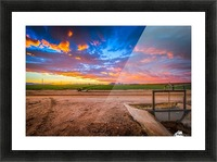 At Days End Picture Frame print