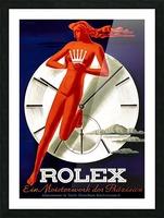 1942 Beyer Zurich Rolex Poster Picture Frame print