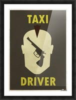 Taxi Driver Vintage Movie Poster Picture Frame print