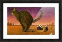 Cat Picture Frame print