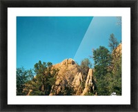 A Rock Hill Picture Frame print
